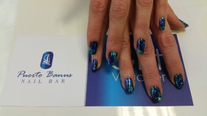 gel polish with foil at Puerto Banus Nail bar, Cork