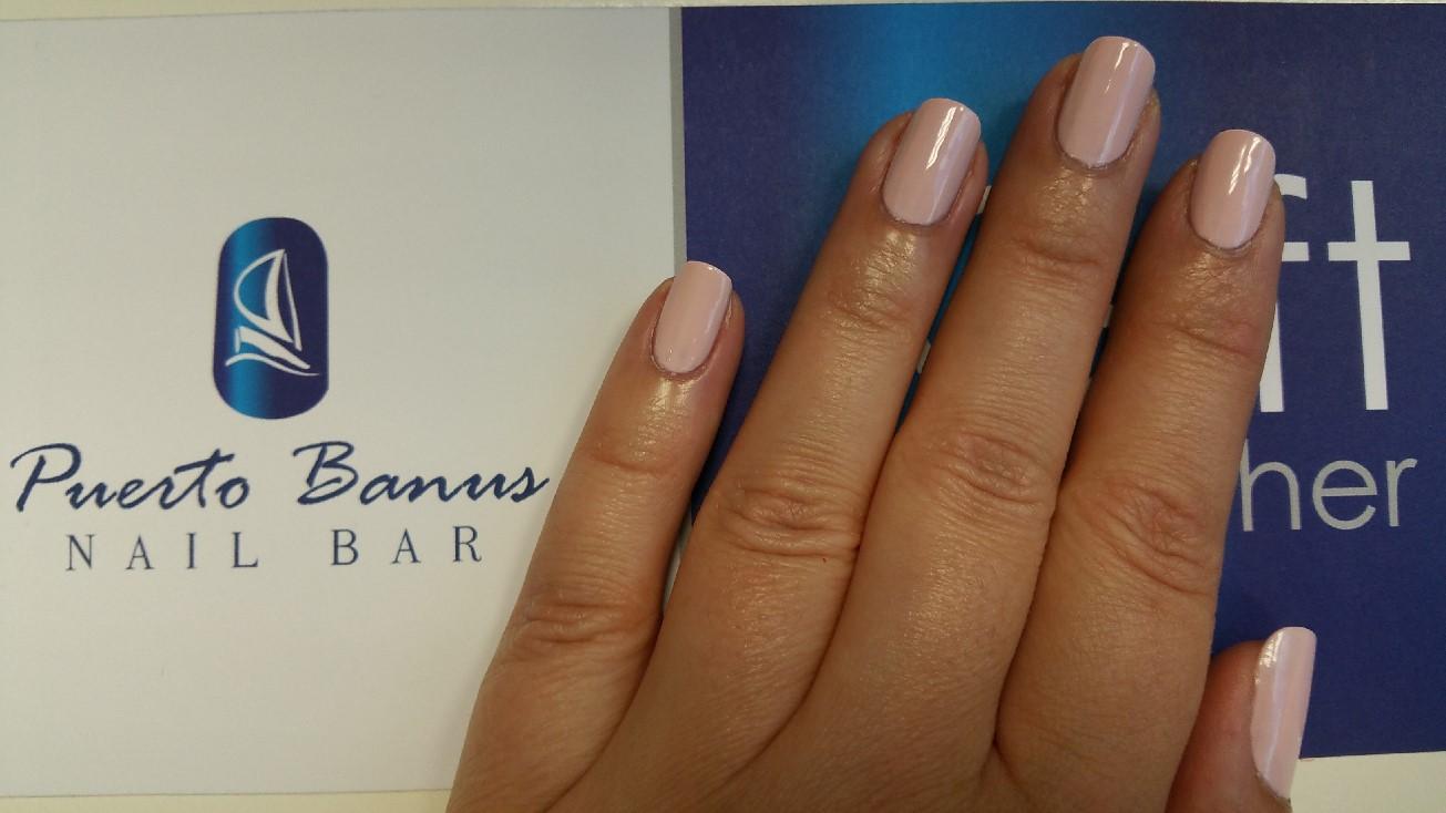 Pale pink colour trend - Puerto Banus Nail Bar Cork