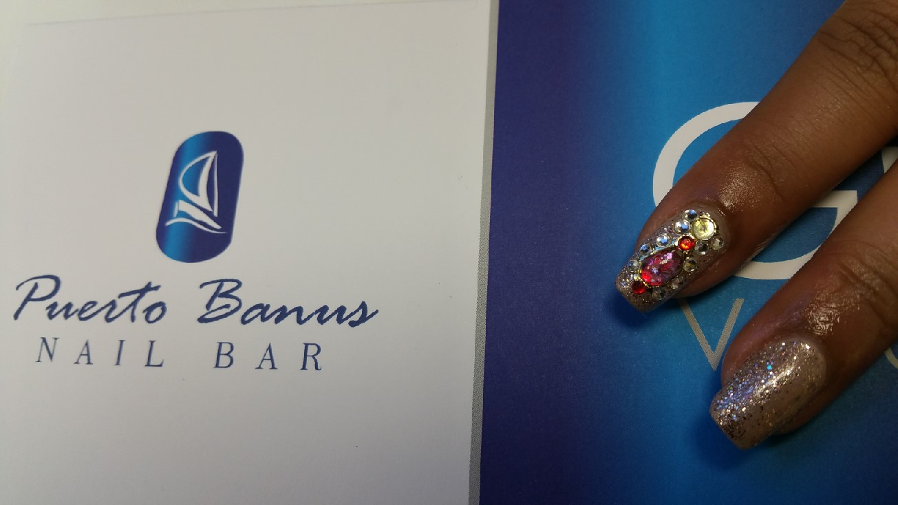 Christmas nails - Puerto Banus Nail Bar Cork