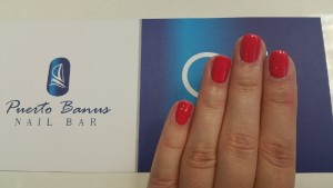 Lobster roll by CND vs. Spoken from the heart OPI