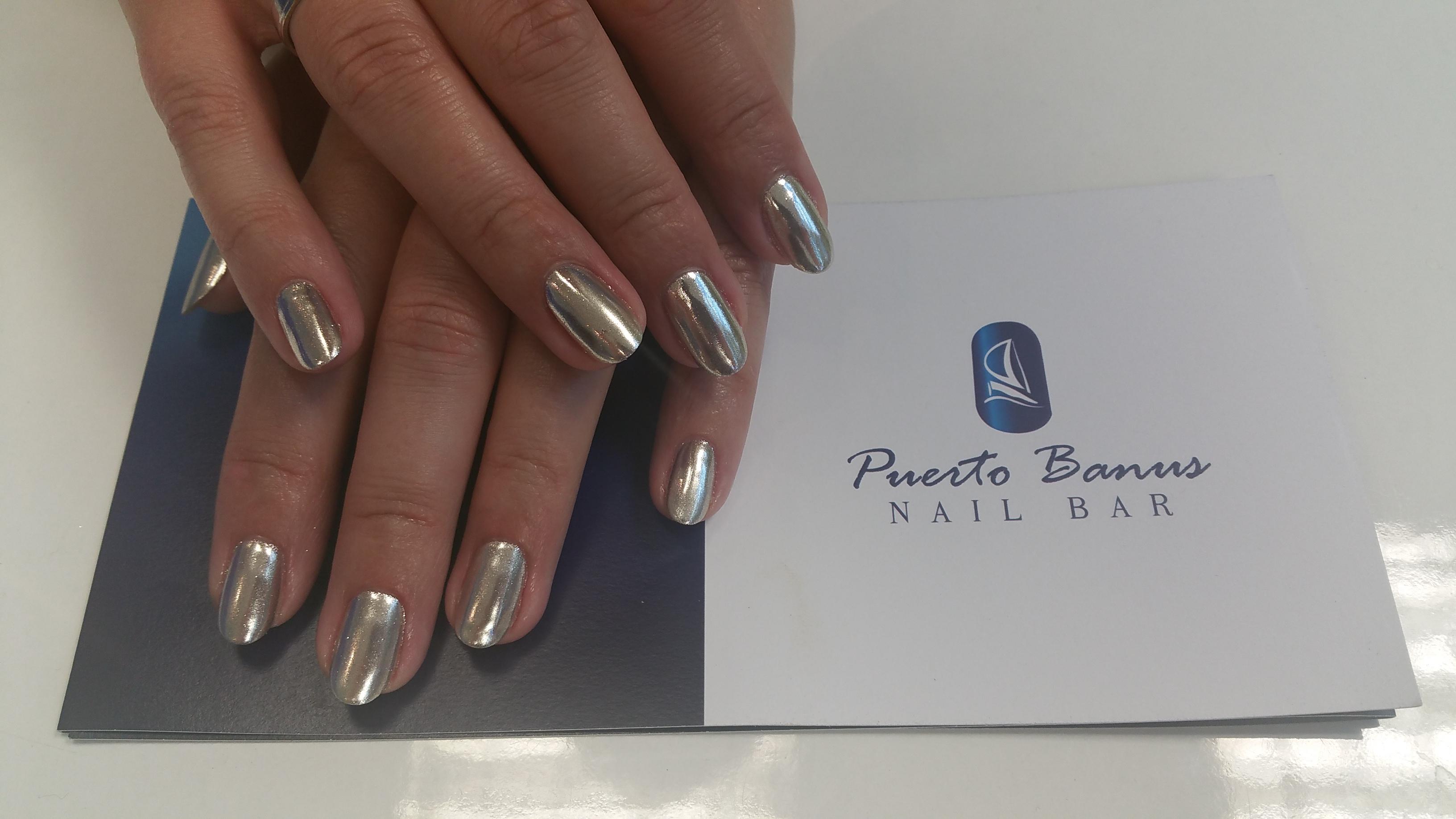 Mirror nails - Puerto Banus Nail Bar Cork