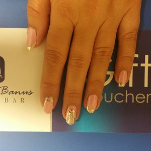 mirror french nails