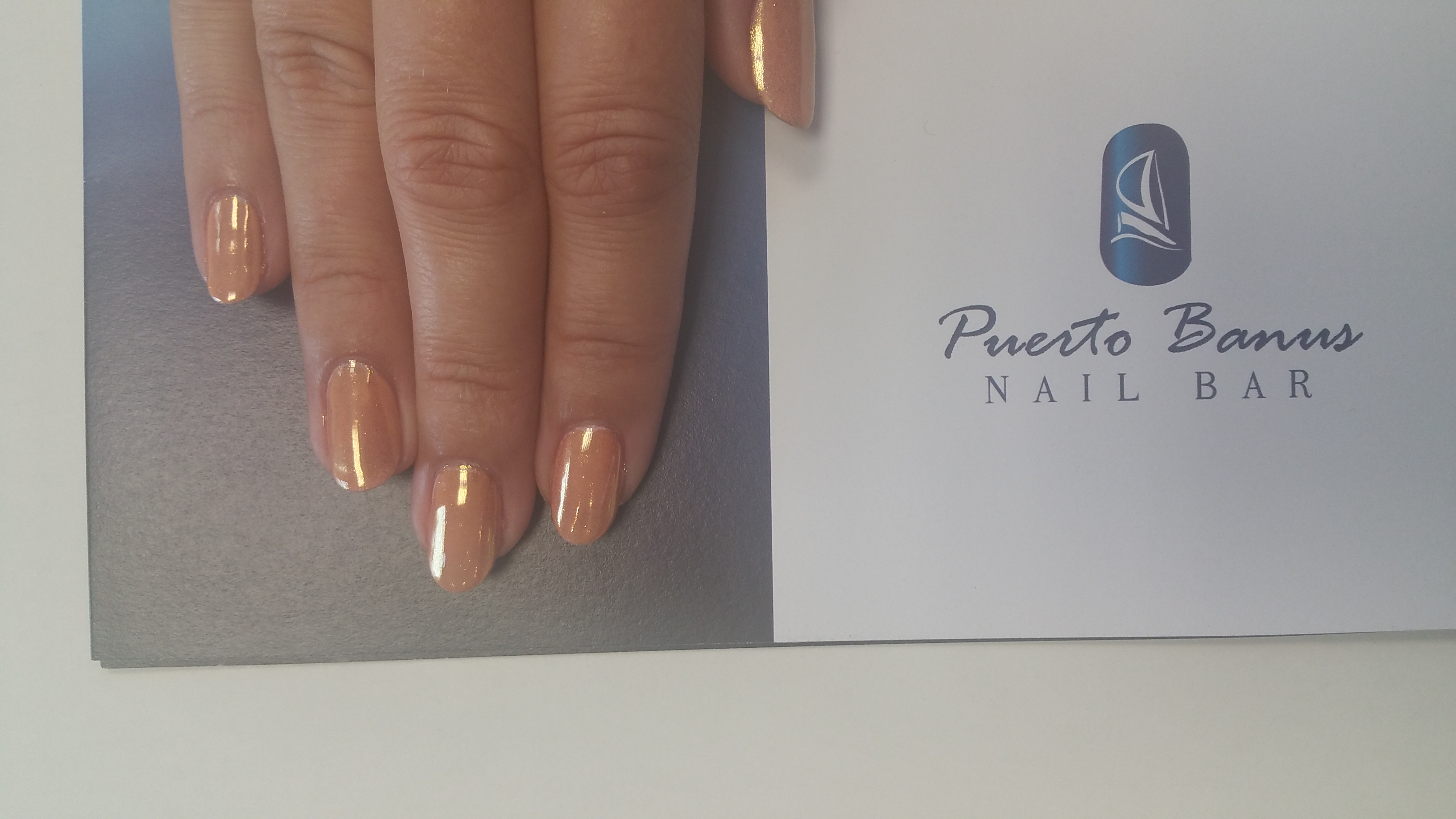 Mirror nails - Puerto Banus Nail Bar Cork