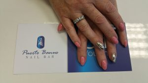 mirror nails acrylic at Puerto Banus nail bar in Cork