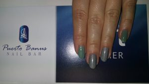 holographic nails at Puerto Banus nail bar in Cork