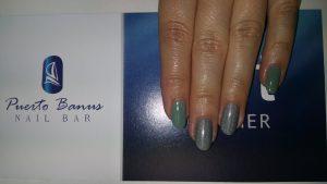 holographic nails at Puerto Banus nail bar in Cork