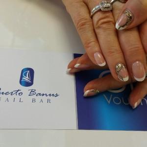French manicure gel polish